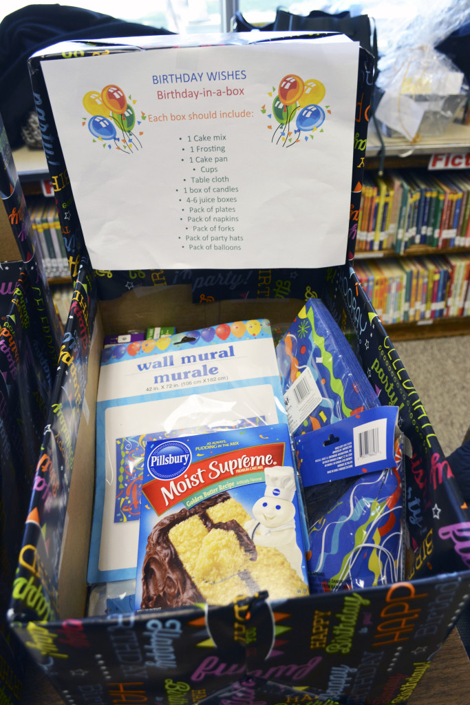 Berry Hill Fourth Grade Students Make Goodie Bags For Birthday Wishes Donation