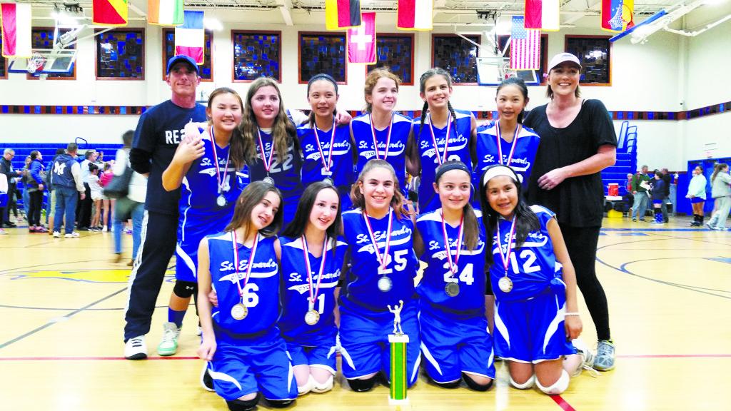 St Edward S Nets Volleyball Title Syosset Jericho Tribune