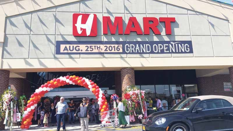 Hmart recently opened after months of anticipation.(Photo by Daniel ...