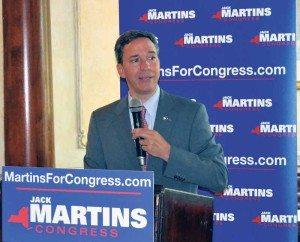 Senator Jack Martins is seeking to push the election to December.