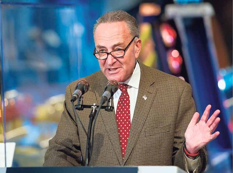 New York State Senator Chuck Schumer has been an outspoken opponent of DeVos's impending confirmation.